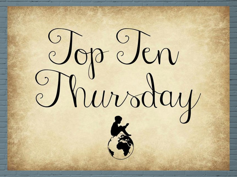 Top Ten Thursday: Zauberhafte Bücher