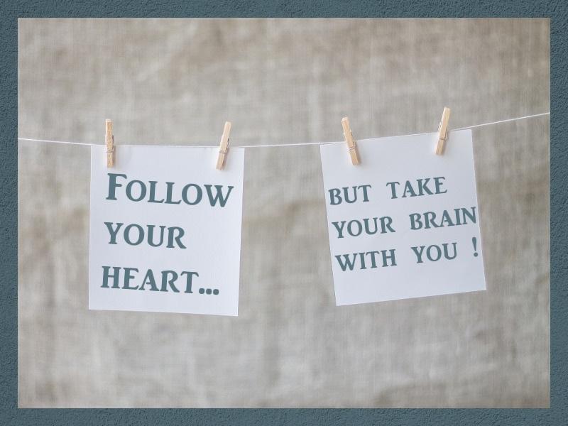 Randnotiz: Bloggen mit Herz & Hirn